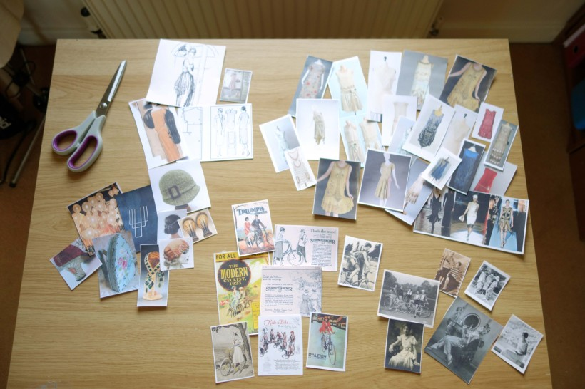 My research images for Module 8. Now I have to arrange them into sketchbook pages.
