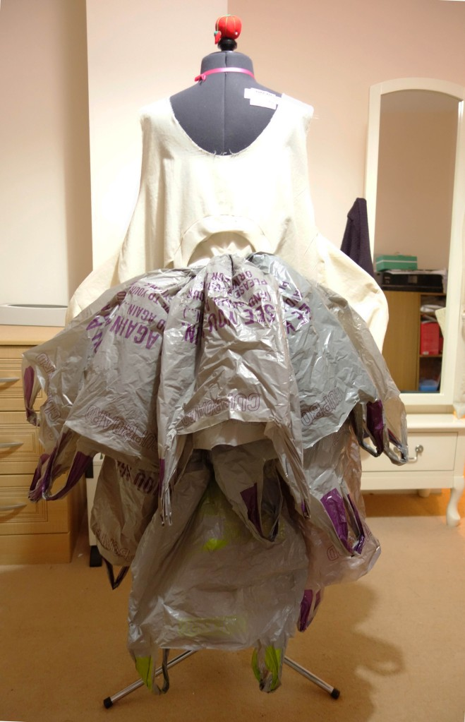 Vortex Dress Toile Back