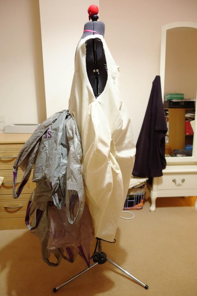 Vortex Dress Toile Side
