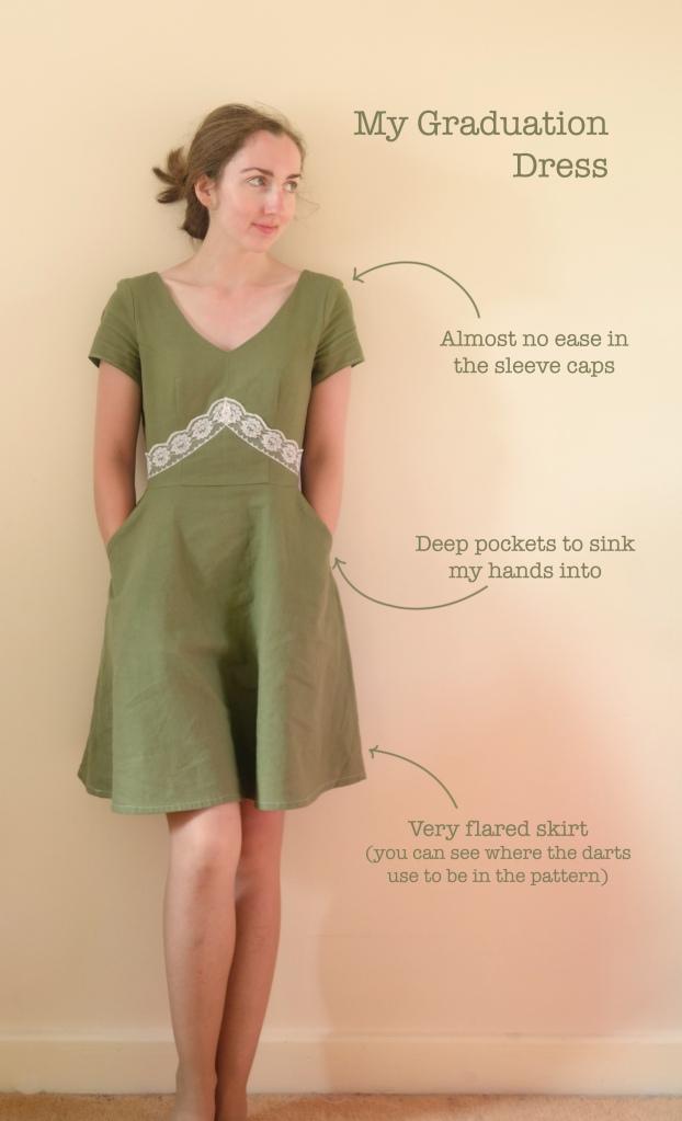 graduation dress -- front