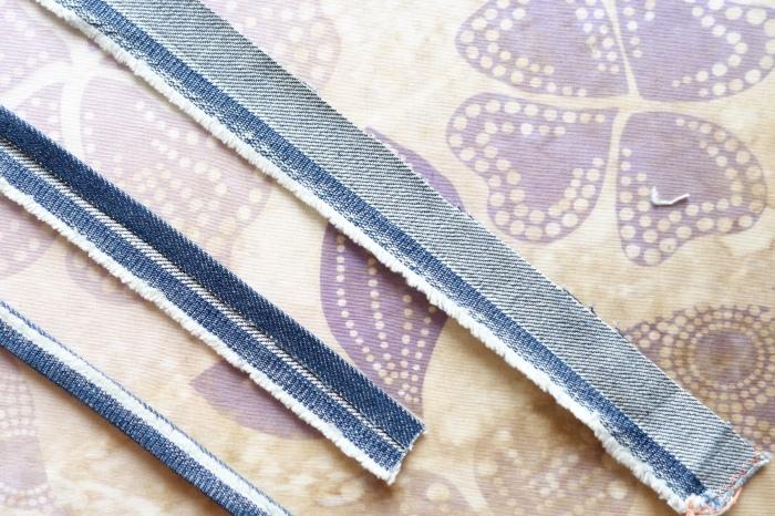 Making the belt-loops