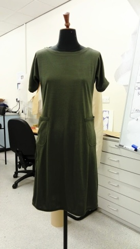Viking dress on correct size mannequin