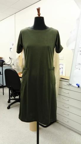 Viking dress on correct size mannequin